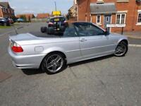 2002 BMW 330 ci convertible 12 mths mot