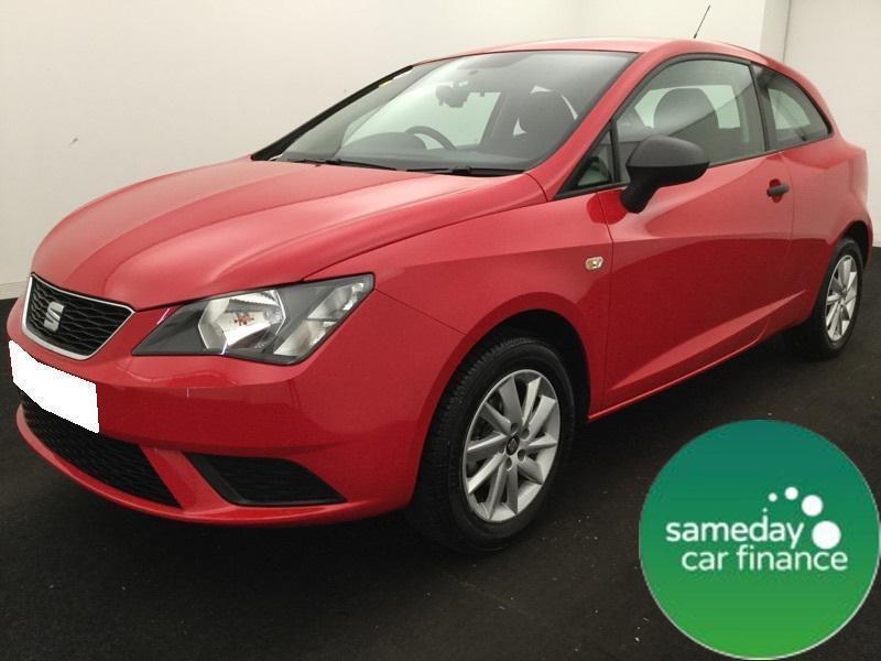 £191.61 PER MONTH RED 2016 SEAT IBIZA 1.0 SC 3 DOOR PETROL MANUAL