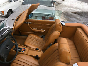 Mercedes 450 SL 1973 convertible