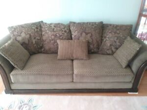 Sofa couch and love seat
