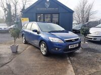 Ford Focus 1.6 TDCI 110 SIV STYLE DPF (blue) 2008
