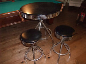 Bistro Table & Stools