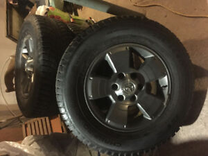Toyota Tacoma Winter Tires & Factory Wheels