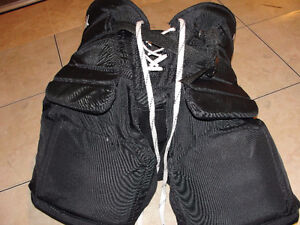Black Reebok 18K Goalie Pants Junior XL