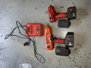 Snap on cordless impact guns