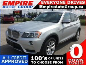 2014 BMW X3 XDRIVE 28I * AWD * LEATHER * REAR CAM * PANO SUNROOF