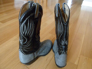 """""""New"""" Western Leather Steel Toed Boot London Ontario image 3"""