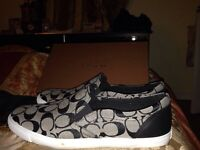 Coach shoes size 10