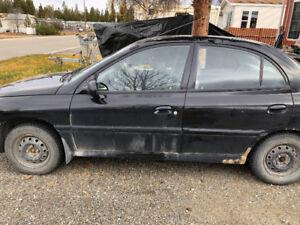 2093 Kia Rio parts car