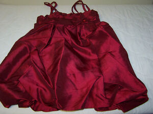 Red Party Dress Size7
