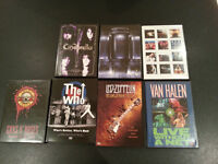 METAL AND ROCK DVD COLLECTION: LED ZEPPELIN, THE WHO, BON JOVI