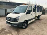 2012 Volkswagen Crafter 2.0 TDI CR35 Double Cab Chassis Cab 4dr (LWB) Chassis Ca