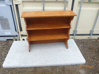 Very nice pine book shelf free delivery