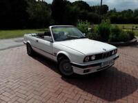 1992 J REG BMW 320 2.0 auto i CONVERTIBLE AUTOMATIC