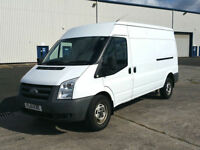 61 Plate Ford Transit 2.4TDCi ( 115PS 6 speed ) 350L ( Med Roof ) Van 350 LWB