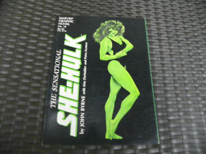 Sensational She-Hulk Marvel Comics Graphic Novel John Byrne