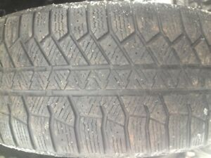 2 pneu hiver continental 225-50-r17