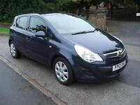 VAUXHALL CORSA 1.3CDTi 16v AIR CON ECOFLEX EXCLUSIV £30 ROAD TAX ONLY ONE OWNER