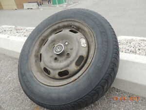 Tires, used 175/70 R13, 6 PC's