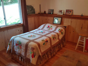 Children's Single Bed (Mattress) and desk