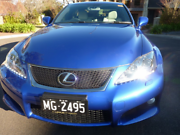 ISF LEXUS  Best ISF in Sydney( Number Plate NOT TRANSFERABLE Penrith Penrith Area Preview
