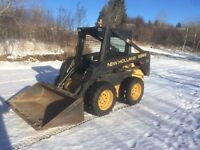 1999 New Holland LX565 Skid Steer with only 857 hours