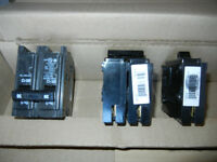 Electrical breakers DEAL 1/2 PRICE   OBO