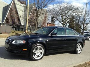 2007 AUDI A4 2.0T QUATTRO LEATHER ROOF ONYL 131K EXTRA CLEAN