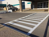 Alberta's ONLY Award Winning Parking Lot Line Painting Company