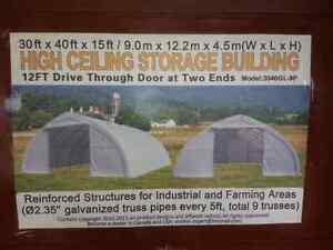 Storage Shelter / Quonset Building
