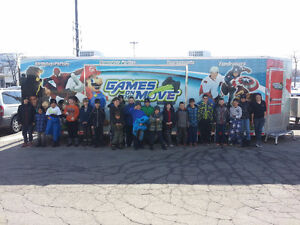 BIRTHDAY PARTY IN A MOBILE VIDEO GAME TRAILER Windsor Region Ontario image 3