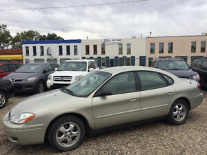 2007 FORD TAURUS ONLY 130000kms, ONE YEAR WARRANTY, VERY CLEAN!!