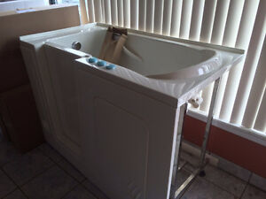 - Never been used - MediTub Left hand walk-in tub