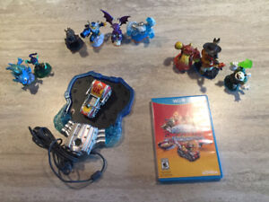 Skylanders Superchargers Wii U game with portal, 9 characters
