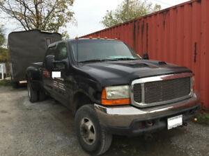 1999 Ford F-350 Lariat Pickup Truck PLUS construction tools