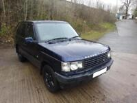 2000 'W' RANGE ROVER 2.5 DSE AUTOMATIC IN MET BLUE 126,000 MILES