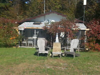 Cottage with Deeded Waterfront access to Kennebec Lake