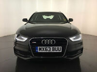 2013 63 AUDI A4 S LINE TDI DIESEL ESTATE SERVICE HISTORY FINANCE PX WELCOME
