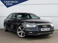 2013 AUDI A4 2.0 TDI 177 Black Edition Leather Bluetooth Parksensors
