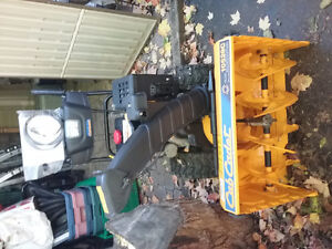 NEVER USED!!! CUB CADET SNOWBLOWER