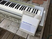 M-AUDIO KEYSTATION 61ES MIDI keyboard