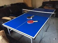 Table tennis table 6ft x 3ft