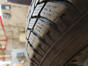 Hankook I-pike winter tires on steel rims!! Want gone!!