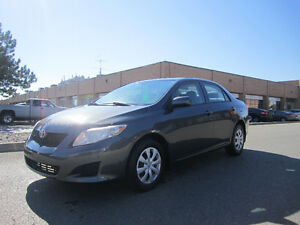 2010 Toyota Corolla CE (Winter tires/Rims Included)