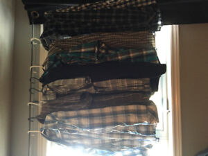Men's button shirt/ casual