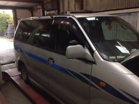 Nissan largo 2.0 turbo diesel good runner spares or repair camper conversion with cooker