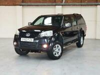 2013 63 GREAT WALL STEED SE 2.0TD 4X4 - BLACK - P/X WELCOME - NO VAT
