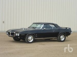 UNRESERVED PUBLIC AUCTION - 1969 FIREBIRD CONVERTIBLE