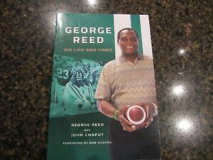 GEORGE REED BOOK AND SIGNED PICTURE