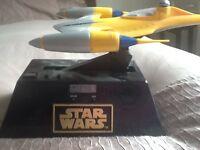 Star Wars Naboo STARFIGHTER motion alarm clock